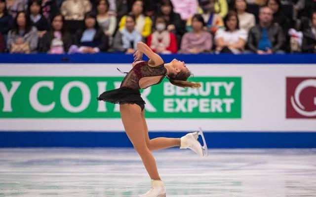 Nicole Schott liegt bei der Eiskunstlauf-DM auf Kurs Titelverteidung