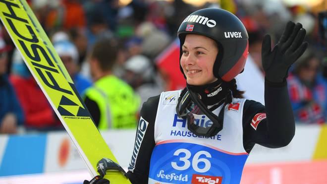 Silje Opseth bejubelte zunächst den vermeintlich ersten Sieg ihrer Karriere