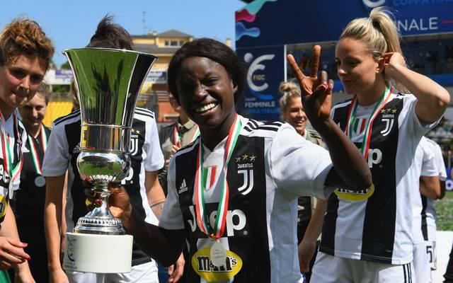 Gewann mit Juventus Turin vergangene Saison das Double: Eniola Aluko