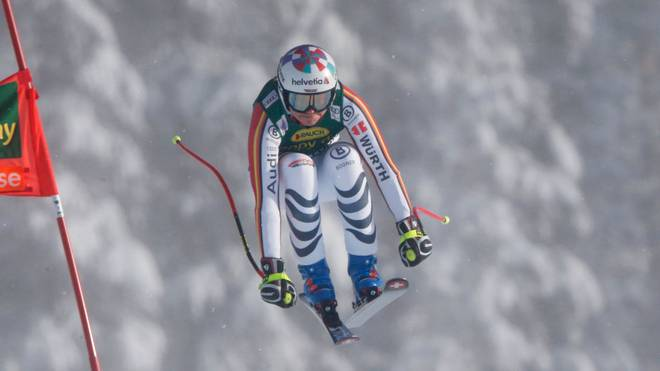 Viktoria Rebensburg gewann den Super-G in Lake Louise
