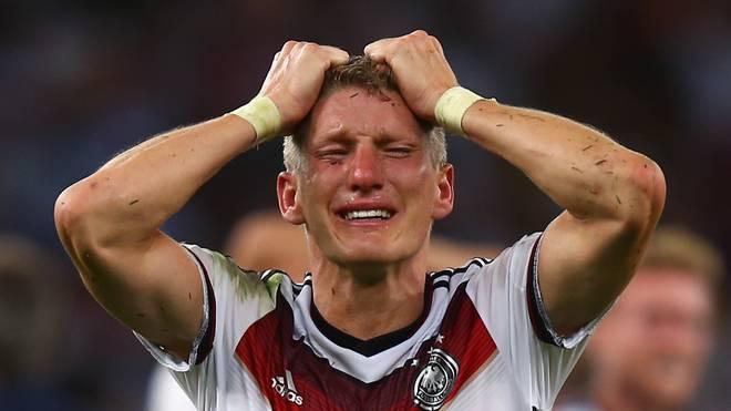 Bastian Schweinsteiger wurde nach dem WM-Finale 2014 von seinen Emotionen übermannt