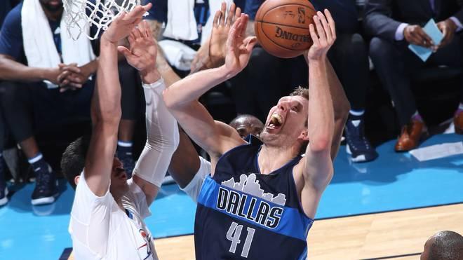 Dirk Nowitzki und die Mavs hatten keine Chance gegen die Thunder