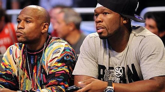 Floyd Mayweather jr. und 50 Cent: Zuerst Beef, jetzt Eierkuchen?