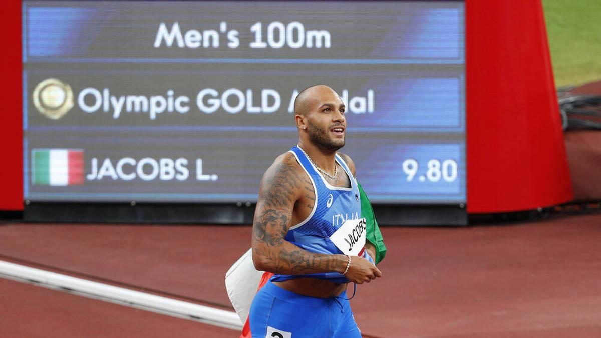 Lamont Marcell Jacobs gewann bei Olympia überraschen Gold