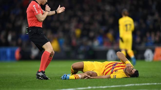 Luis Suárez fehlt dem FC Barcelona monatelang