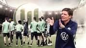 Oliver Glasner (r.) will beim VfL Wolfsburg neue Reize setzen. Er hat einen Vertrag bis 2022 unterschrieben.