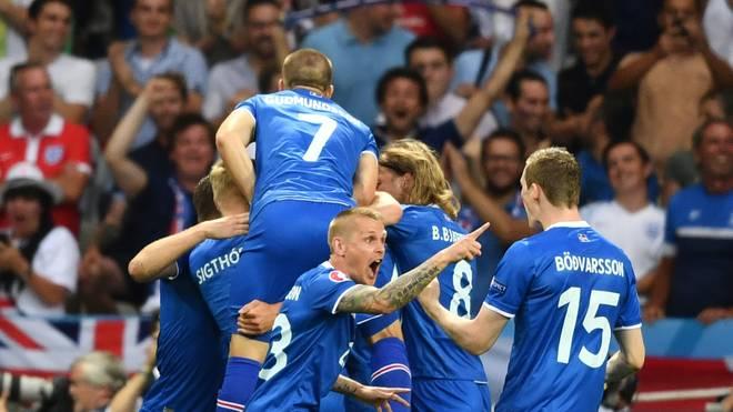 Kolbeinn Sigthorsson brachte Island mit 2:1 in Führung