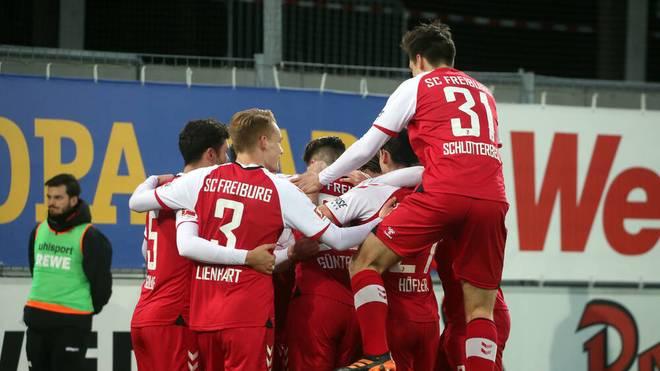 Der SC Freiburg hatte am Samstag viel Grund zum Jubeln