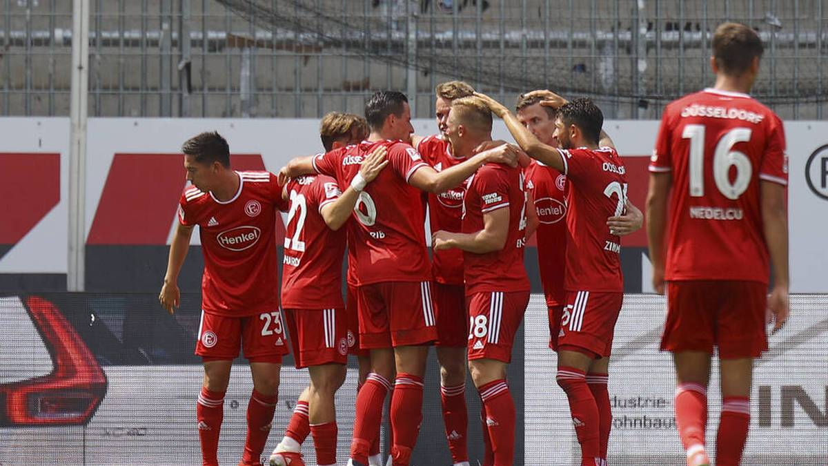 Fortuna Düsseldorf ist erfolgreich in die neue Saison gestartet
