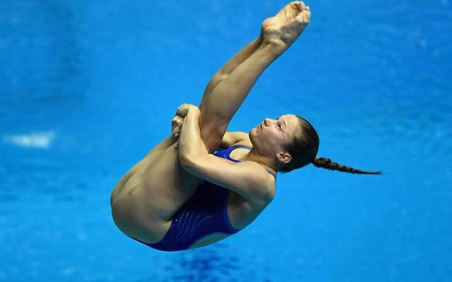 Tina Punzel verpasste die Goldmedaille nur knapp