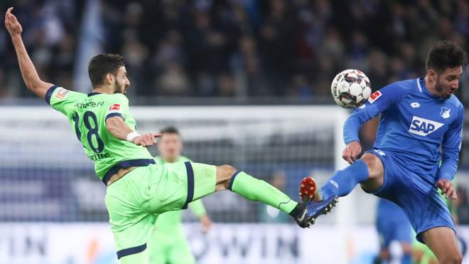 TSG 1899 Hoffenheim v FC Schalke 04 - Bundesliga: Schalke und Hoffenheim treffen am 30. Spieltag am Samstag um 20.30 Uhr aufeinander