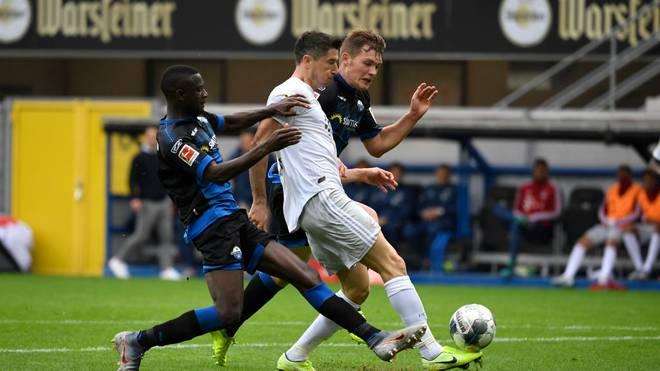 Der FC Bayern ist zum Auftakt des 23. Spieltags gegen Schlusslicht Paderborn gefordert