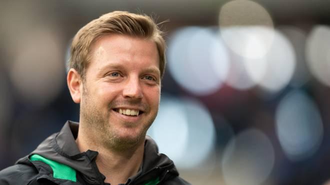 Florian Kohfeldt hat seinen Vertrag als Cheftrainer von Werder Bremen verlängert