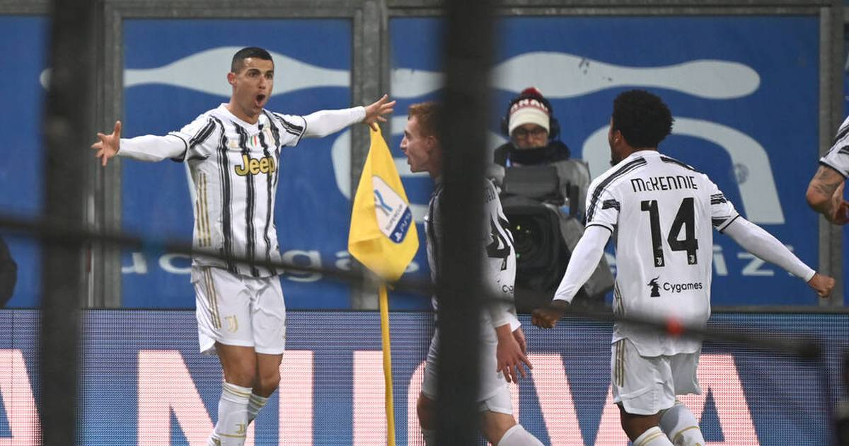 Cristiano Ronaldo mit Weltrekord! Juventus holt Supercoppa gegen SSC Neapel - SPORT1