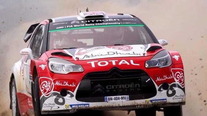 Kris Meeke war bei der Rallye Portugal nicht zu schlagen