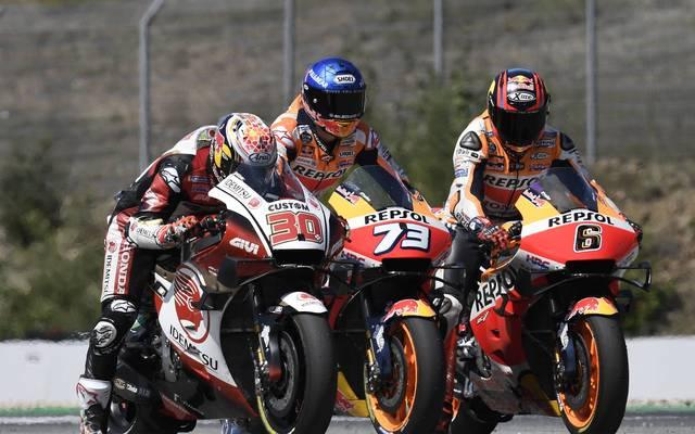 Die MotoGP hält ihr Saisonfinale in Portugal ab