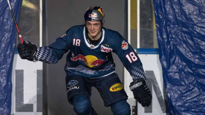 Justin Schütz wurde 2018 von den Florida Panthers gedraftet