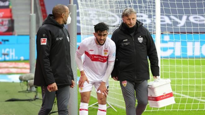 Stuttgarts Gonzalez erleidet Muskelfaserriss