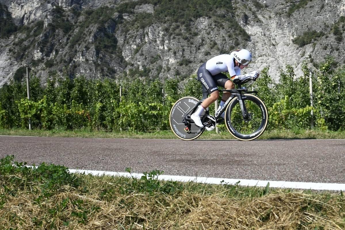 """Lisa Brennauer ist von der neuen """"Tour de France Femmes"""" angetan. """"Es sieht klasse aus. Es wird eine Wahnsinns-Veranstaltung"""", sagte Brennauer."""