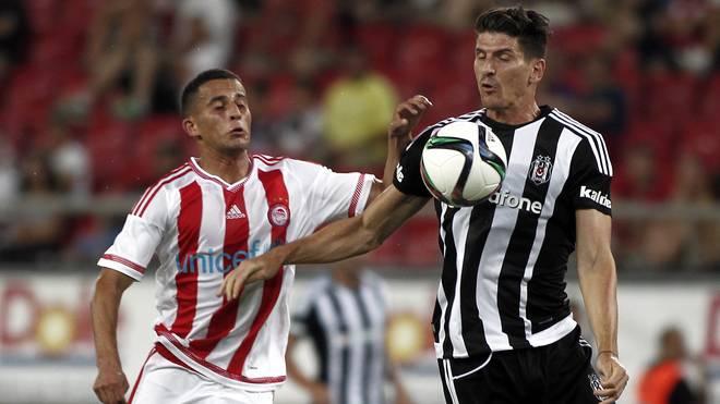 Mario Gomez erzielte für Besiktas Istanbul seinen ersten Doppelpack.