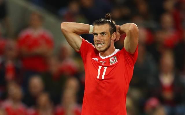 Gareth Bale fehlt Wales wegen einer Verletzung aus der Champions League gegen den BVB