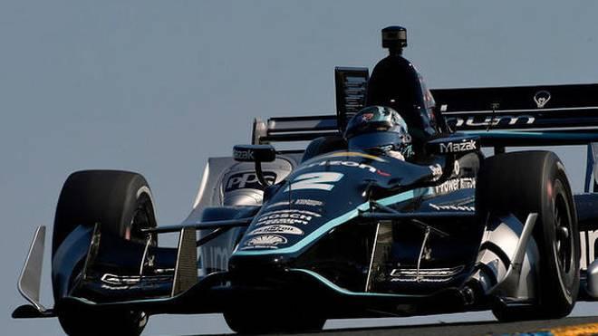 Penske-Pilot Josef Newgarden fixierte in seinem 100. IndyCar-Rennen den Titel