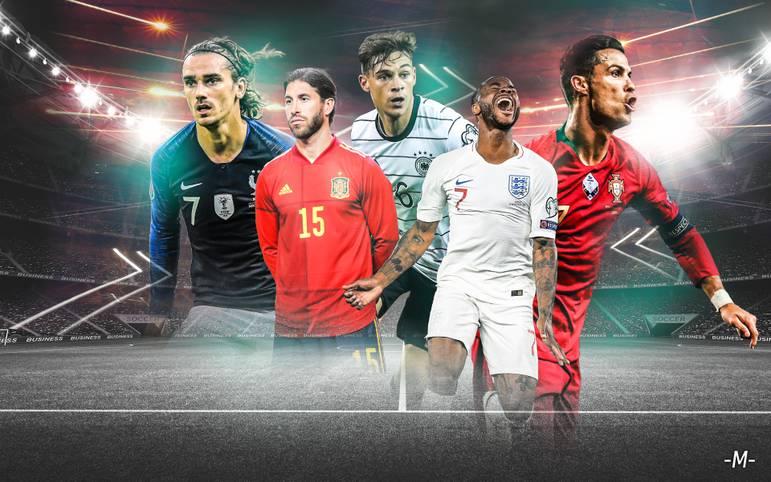 Der Großteil der EM-Tickets für 2020 ist vergeben. Wer wirkt titelreif, welches große Team überzeugte in der Quali weniger, wo steht die deutsche Nationalmannschaft? SPORT1 macht den Check im Powerranking