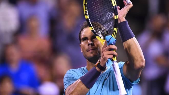 ATP: Rafael Nadal nach Absage von Gael Monfils im Montreal-Finale