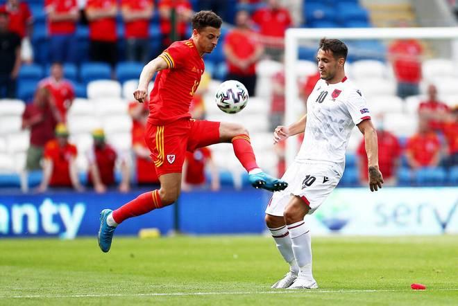 Der Waliser Ethan Ampadu (r.) steht beim FC Chelsea unter Vertrag