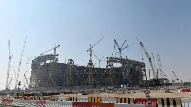 Baustellen in Katar entsprächen Standard in Mitteleuropa