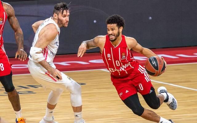 Nick Weiler-Babb war bei den Basketballern des FC Bayern bester Akteur beim Sieg bei Chimki Moskau