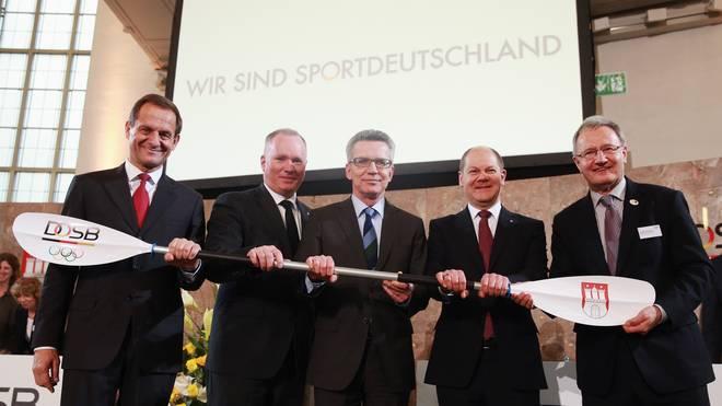 Hamburg bewirbt sich um die olympischen Sommerspiele 2024