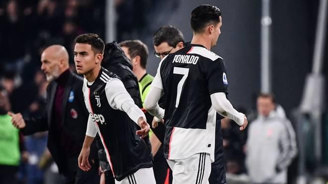 Cristiano Ronaldo war nicht glücklich mit seiner Auswechslung