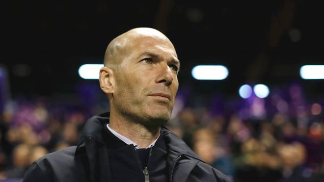 Zinédine Zidane kehrte in der Saison 2019/20 nach einer Auszeit zu Real Madrid zurück