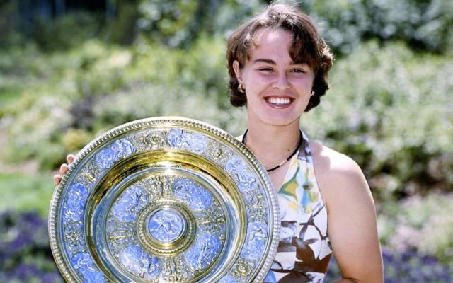 Martina Hingis siegte 1997 in Wimbledon