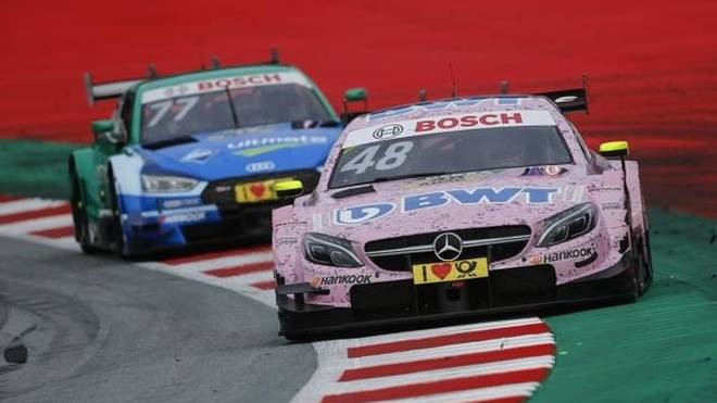 Edoardo Mortara holte in den DTM-Rennen 2017 die meisten Plätze heraus