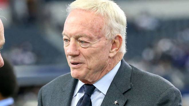Jerry Jones ist der Besitzer der Dallas Cowboys
