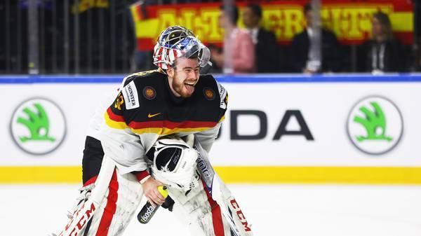 Philipp Grubauer gibt gegen Frankreich sein Debüt bei der diesjährigen Eishockey-WM