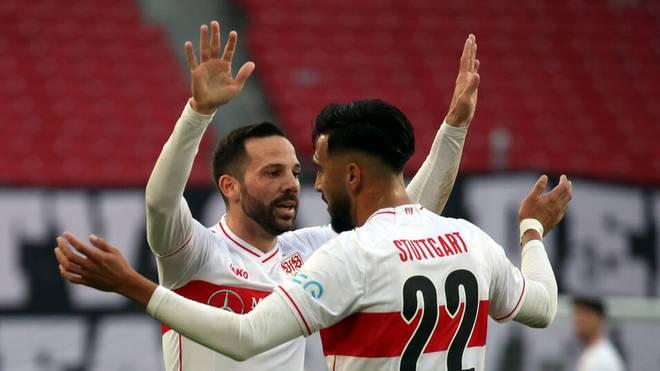 Gonzalo Castro (l.) und Nicolas Gonzalez wollen gegen den FC Augsburg die Revanche schaffen