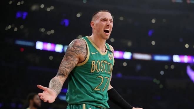 Daniel Theis spielt bei den Boston Celtics