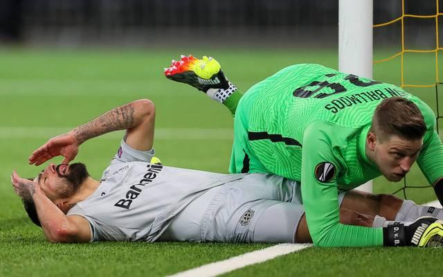 Kerem Demirbay (l.) und Bayer Leverkusen verzweifeln an Young Boys Bern