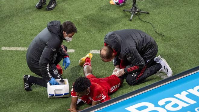 Kingsley Coman wurde in Leverkusen verletzt ausgewechselt