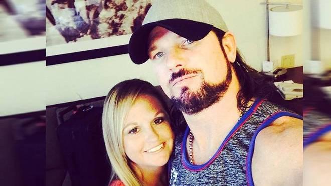AJ Styles und Frau Wendy haben zusammen vier Kinder