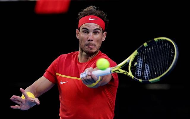 Rafael Nadal gewann sein Spiel gegen Yoshihito Nishioka