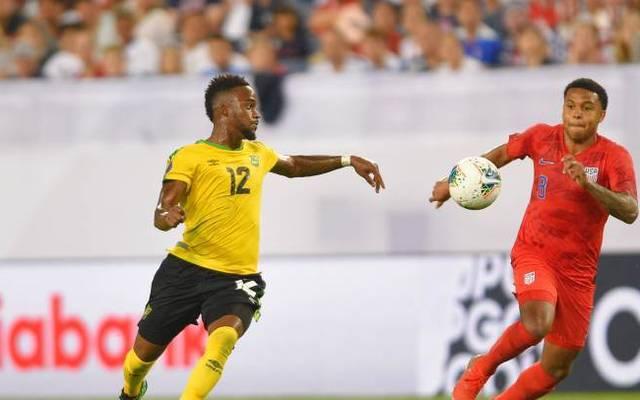 Junior Flemmings (l.) spielt für Jamaika