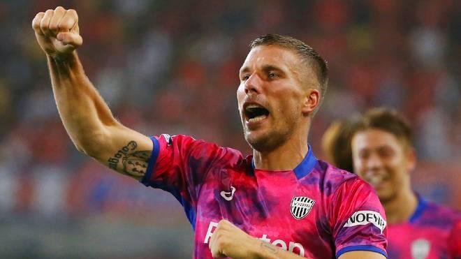 Lukas Podolski war bei Gamba Osaka an zwei Toren beteiligt