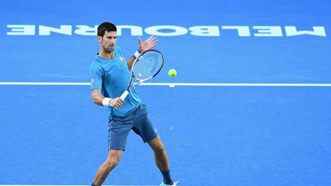 Novak Djokovic will in Melbourne sein Comeback feiern