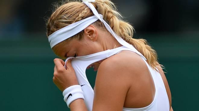 Sabine Lisicki Wimbledon Frust