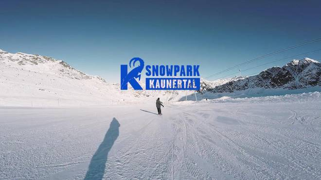 Snowpark Kaunertal Top-To-Bottom mit Fabian Fraidl