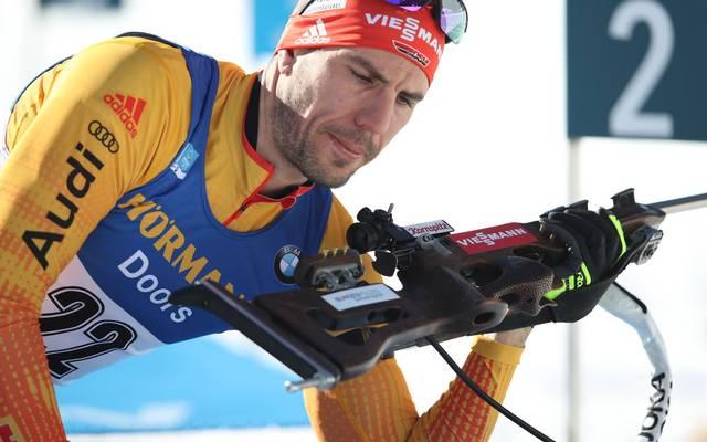 Für Arnd Peiffer und die deutschen Biathleten gab es beim Rennen in Nove Mesto nichts zu holen